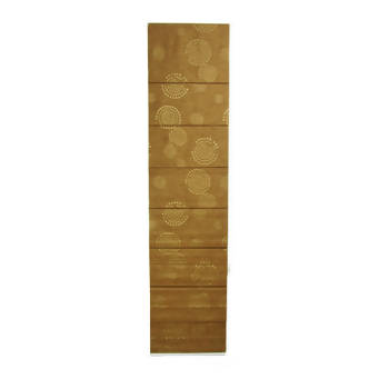 CORTINA ROMANA BLACKOUT 0,50 X 2,10 - COMANDO DIREITO - COR BELLA LIGHT BROWN
